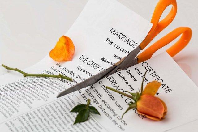crisis de pareja y divorcio